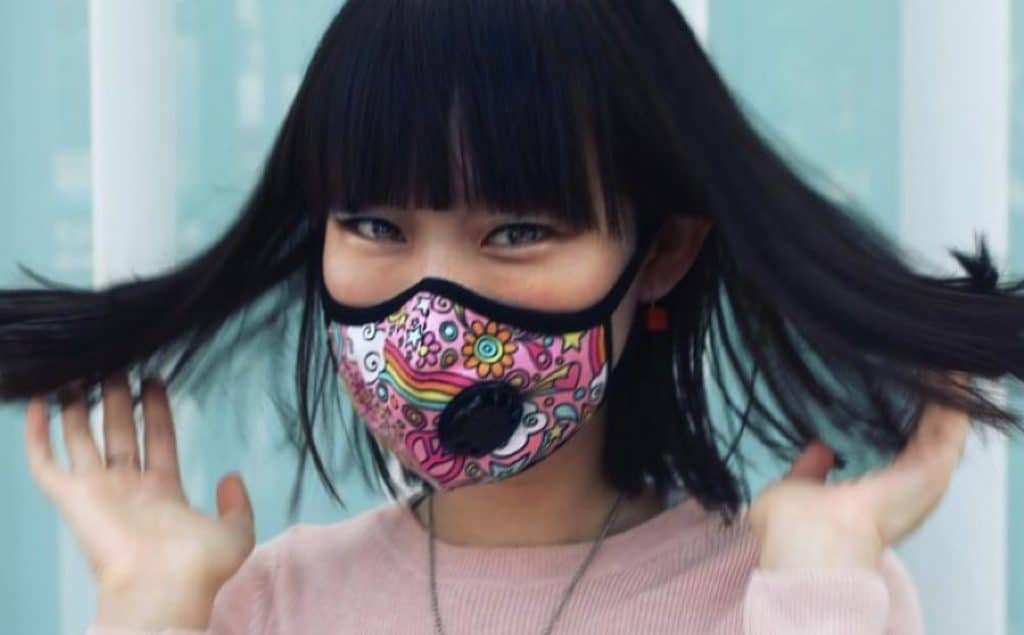 Vogmask is a fashionable mask for immune compromised people at risk of coronavirus, flu and other infections.
